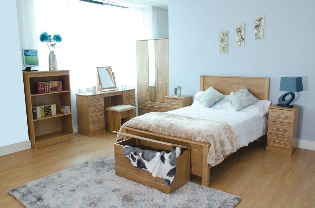 Cool Lowrys Mya Black Chrome Oak Bedroom Furniture Kilkenny Home Interior And Landscaping Ponolsignezvosmurscom