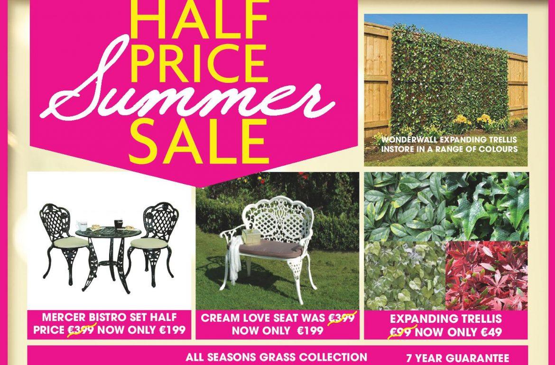 summer garden sale at lowrys
