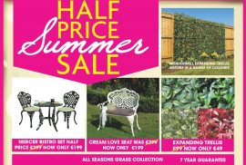 summer garden sale at lowrys