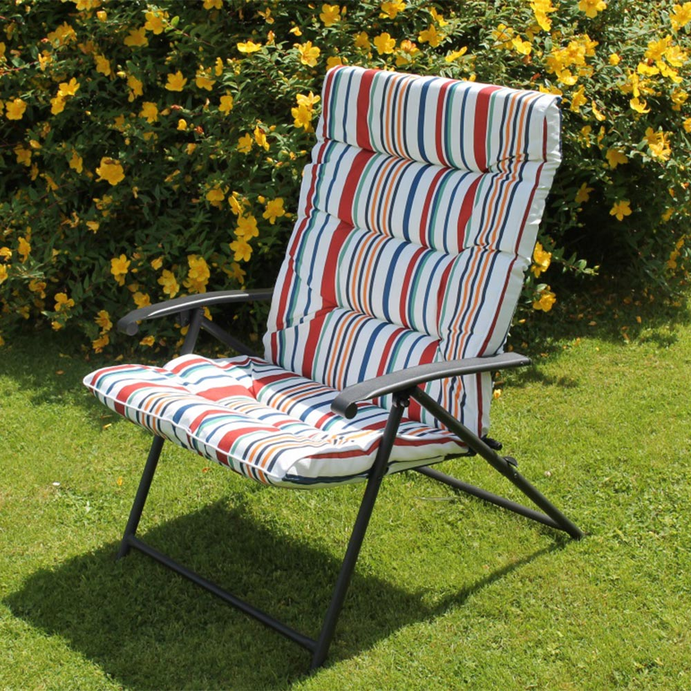 Folding Padded Sun Chair -folding chairs kilkenny-garden furniture