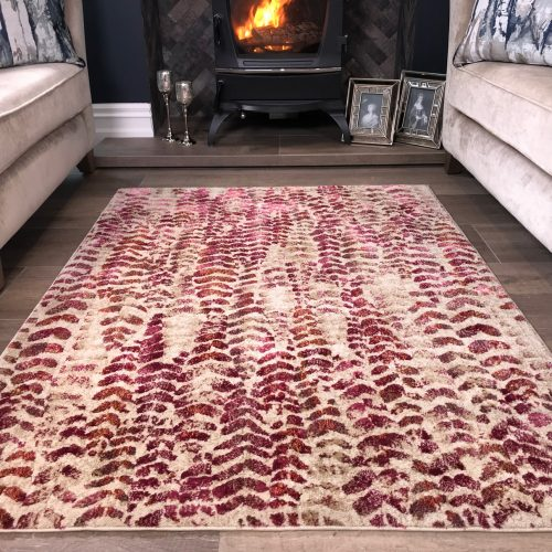 Capella Expressions Natural Berry Room Rug