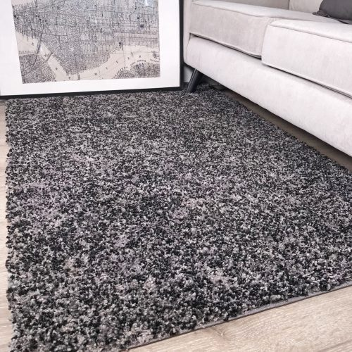 Murano Black Room Area Rug