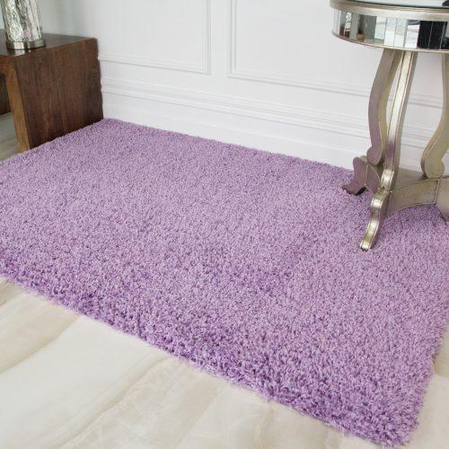 Violet Purple Soft Shaggy Rug - Vancouver